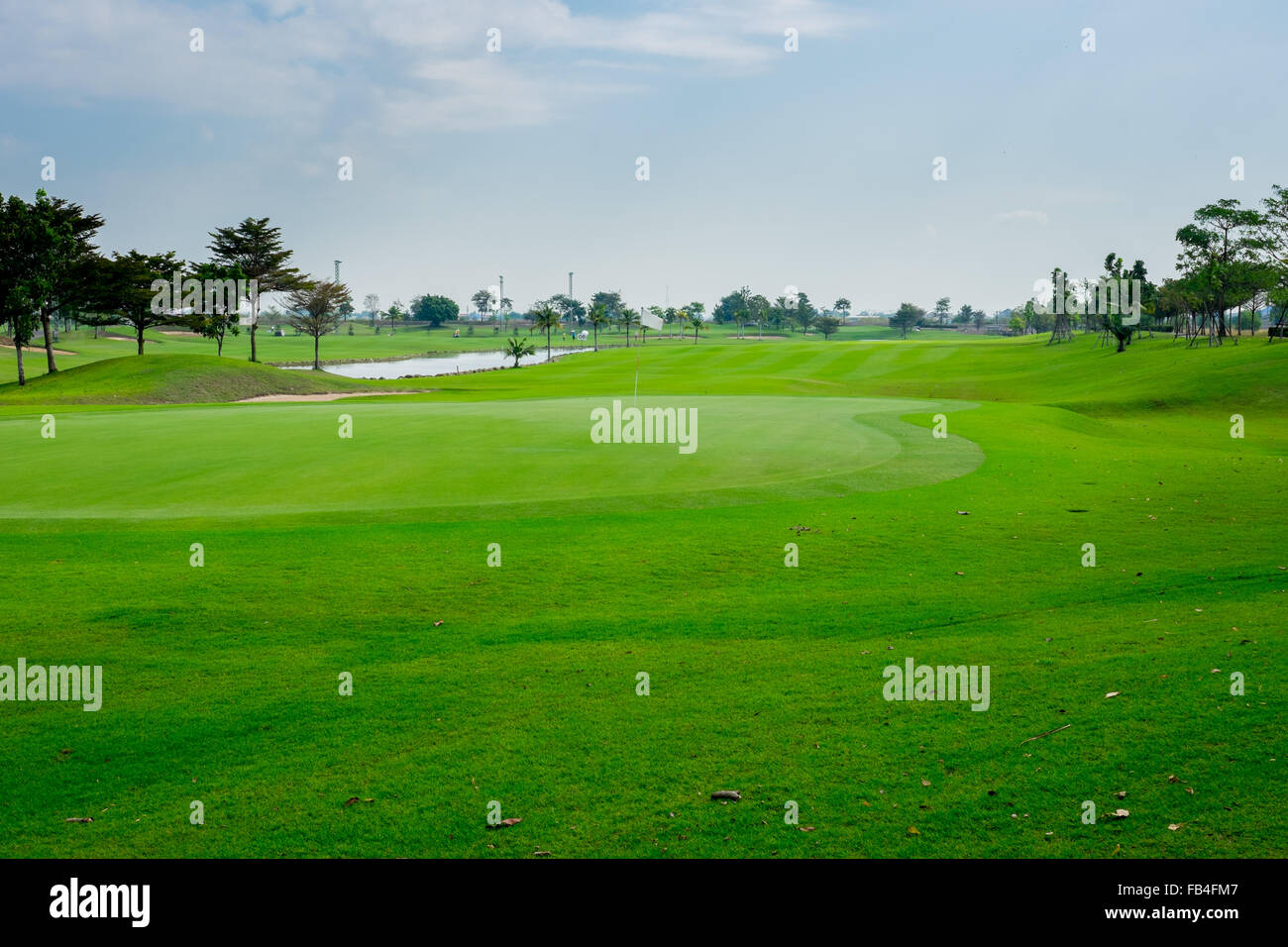 Beautiful Golf Course High Resolution Stock Photography And Images Alamy