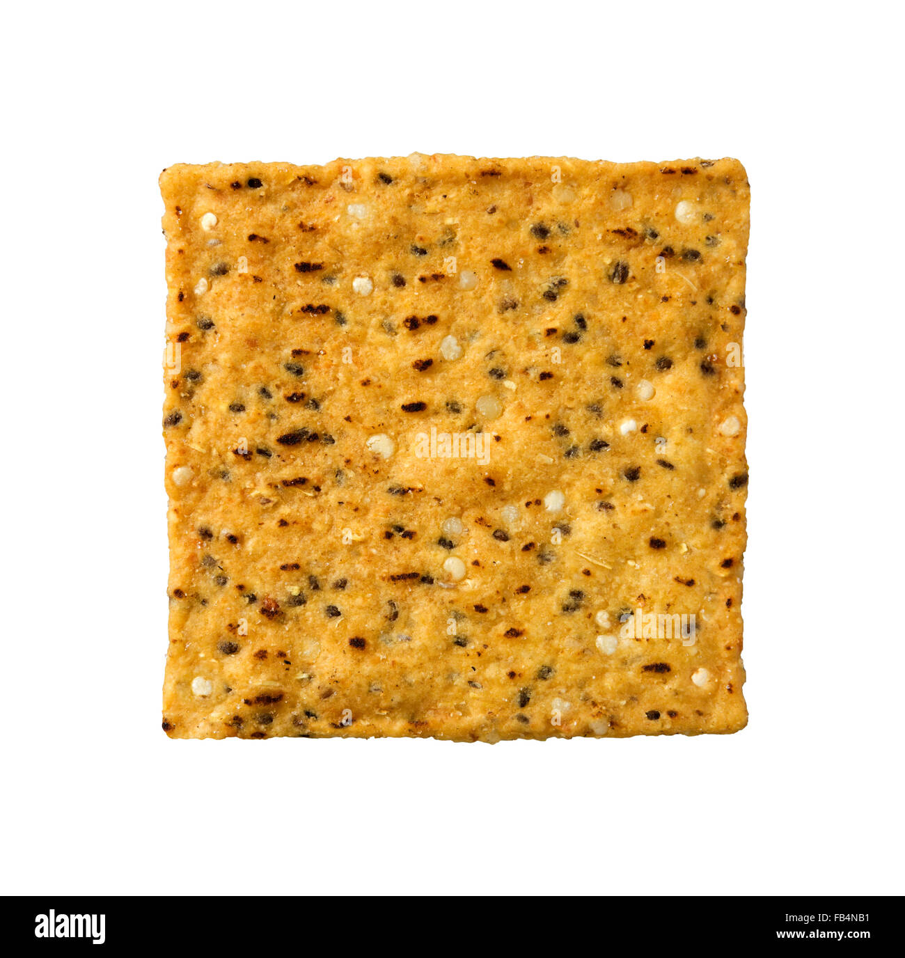 Single Sweet Potato Tortilla Chip - Stock Image