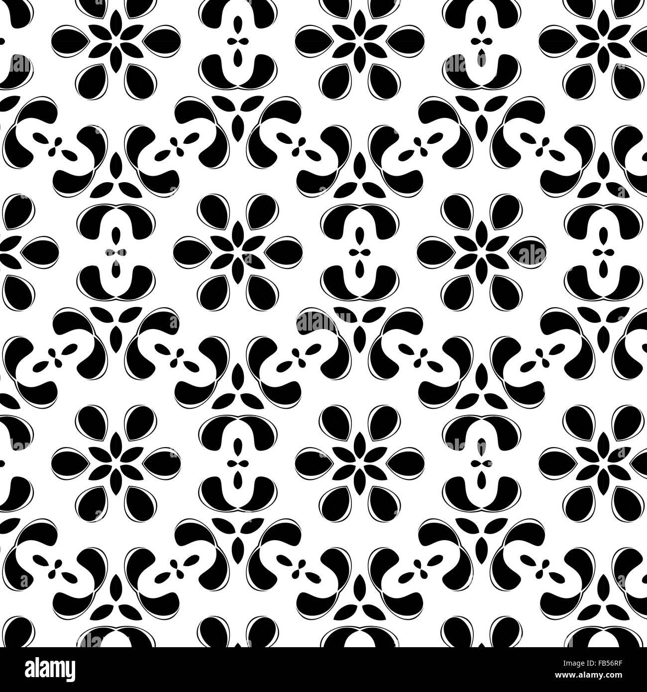 Primitive simple  grey retro pattern - Stock Image