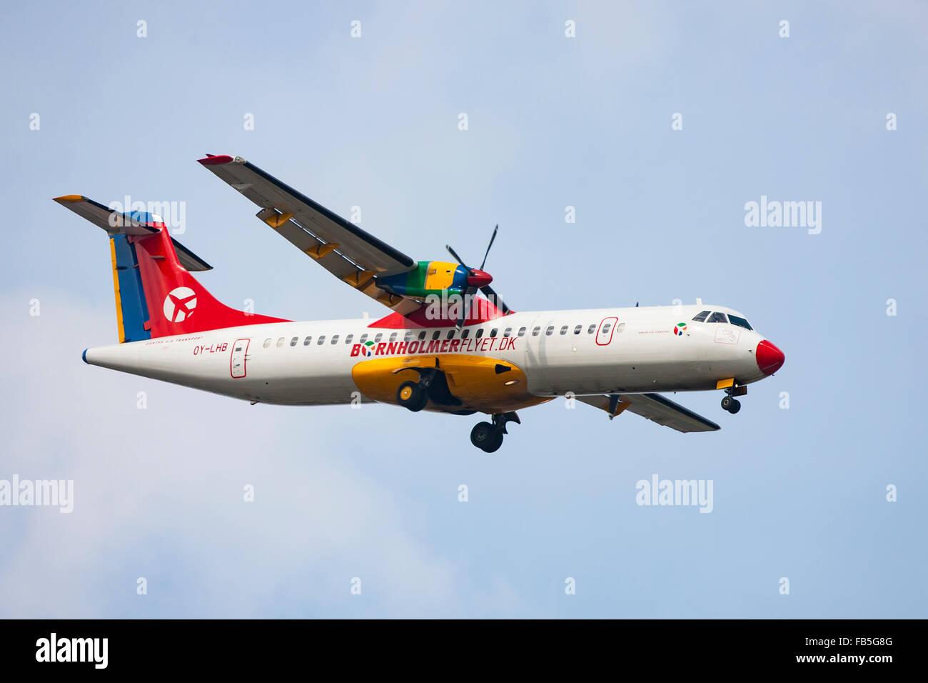 Bornholmerflyet Airliner - Stock Image