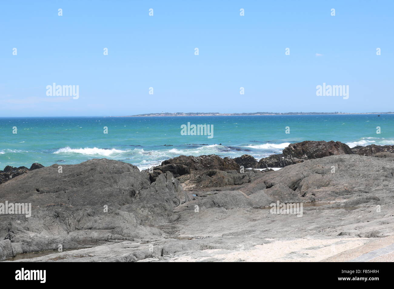 Robben Island, Cape Town, South Africa - Stock Image