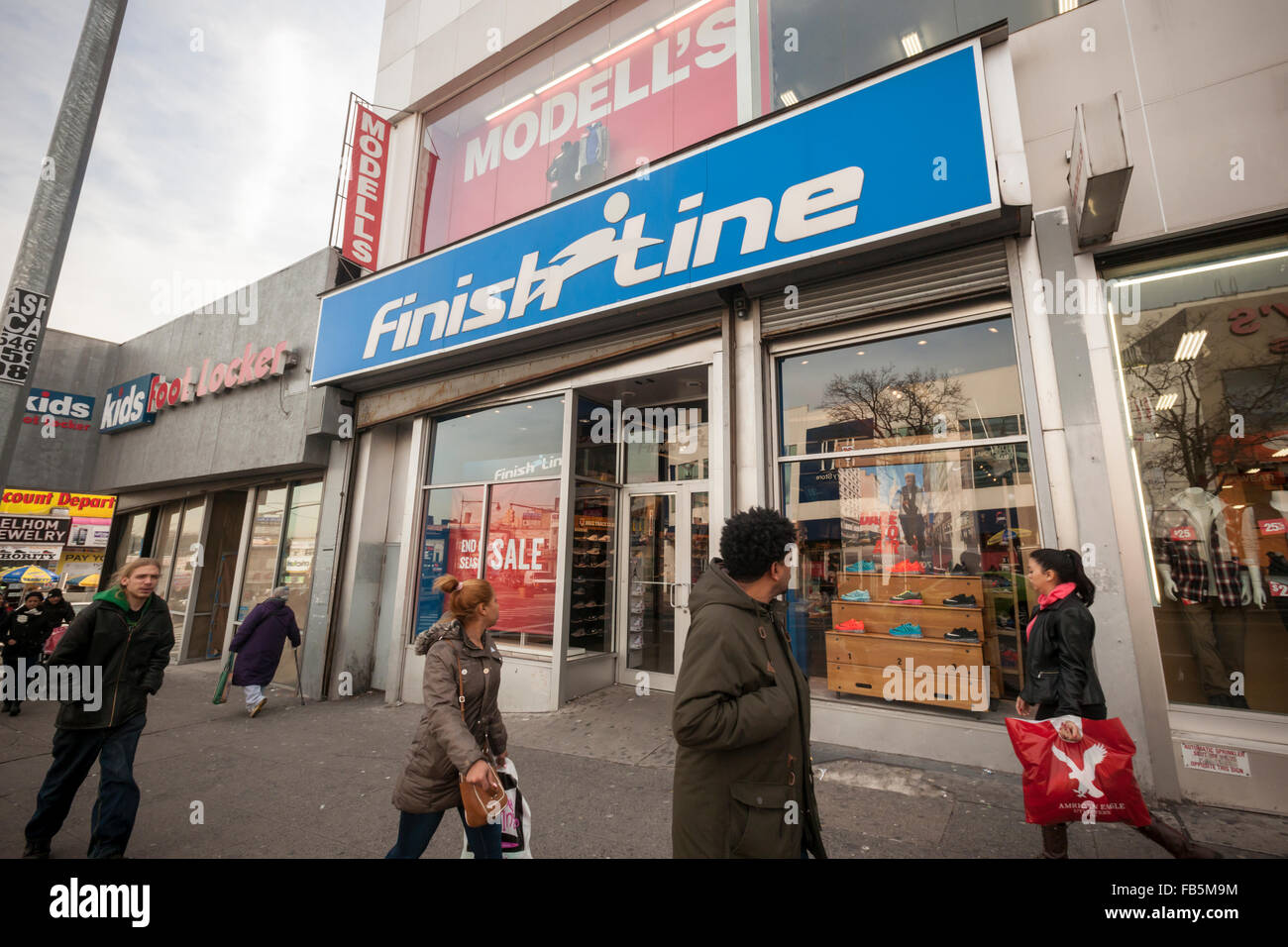 Fordham Road central business district