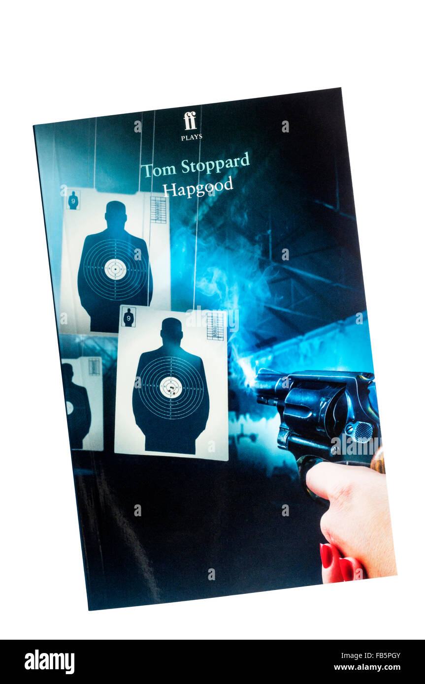A copy of Hapgood by Tom Stoppard published by Faber & Faber. - Stock Image