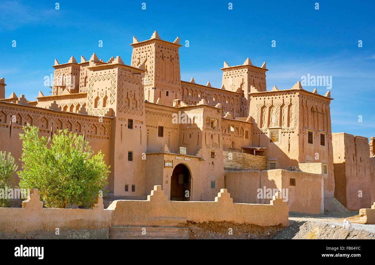 Kasbah Amerhidil, Sokura, Morocco, Africa Stock Photo