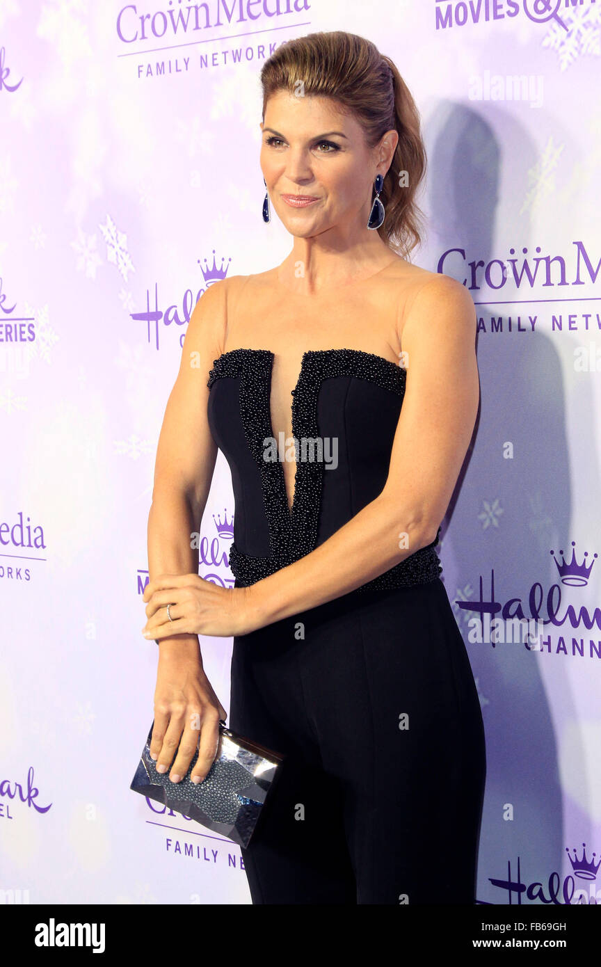 Lori Loughlin at the Hallmark Channel and Hallmark Movies