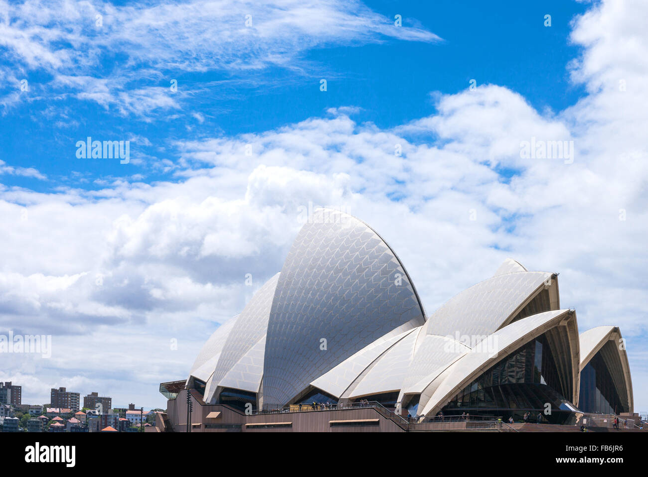 Australia, Sydney, view of the architectures of the Opera House - Stock Image