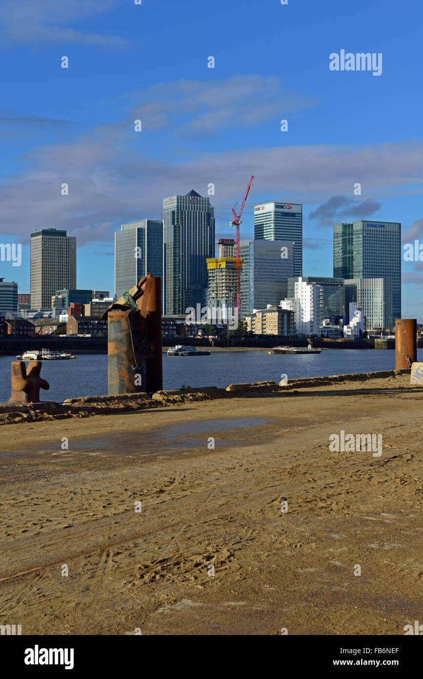 Canary Wharf Estate, Isle of Dogs, Docklands, London E14, United Kingdom Stock Photo