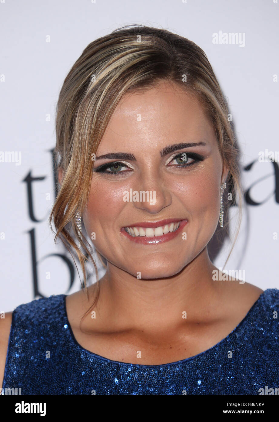 2nd Annual Diamond Ball 2015 Red Carpet Featuring Lexi Thompson Where Santa Monica California United States When