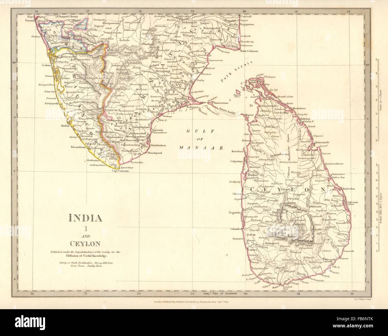 Kochi Map Stock Photos Kochi Map Stock Images Alamy