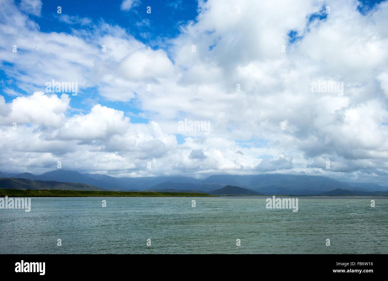 Australia, Queensland, Port Douglas, the sea view - Stock Image