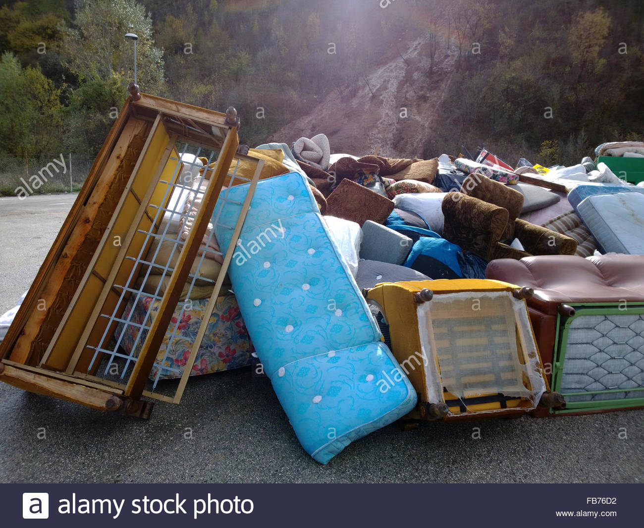 old mattress stock photos old mattress stock images alamy