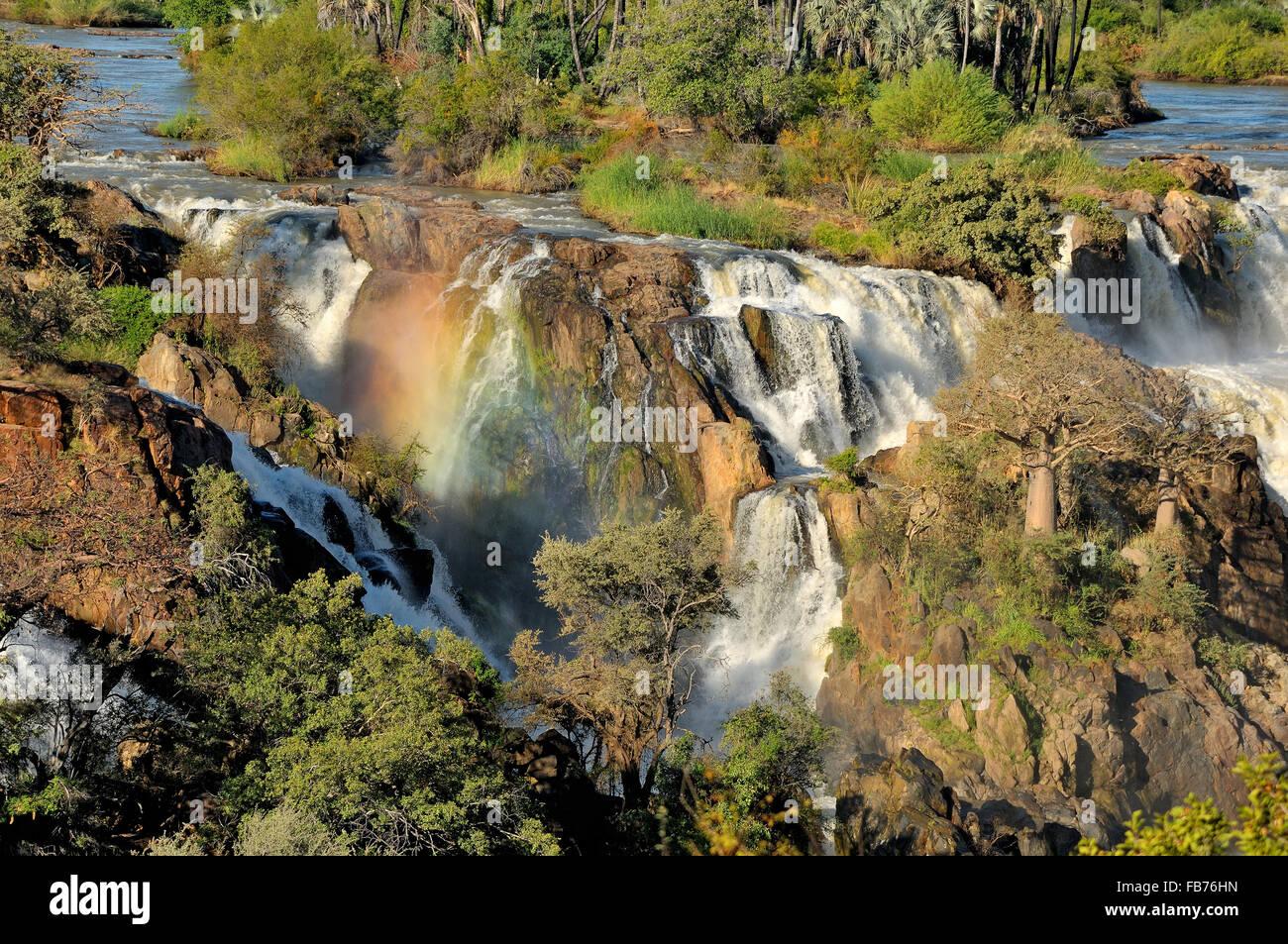 Epupa waterfall, Namibia - Stock Image