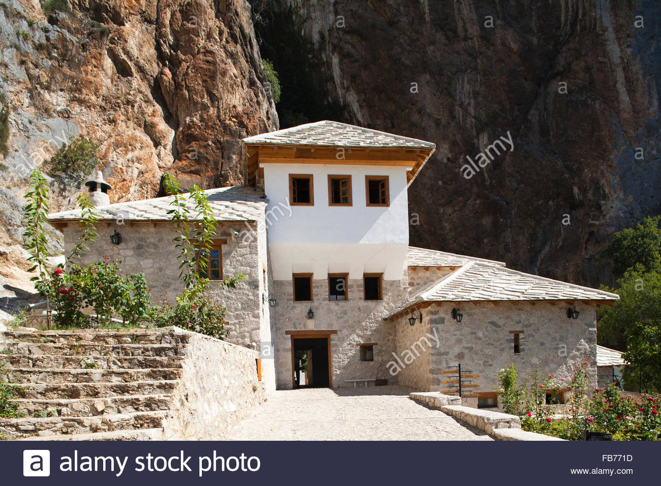 blagaj,Bosnia and Herzegovina,Europe Stock Photo