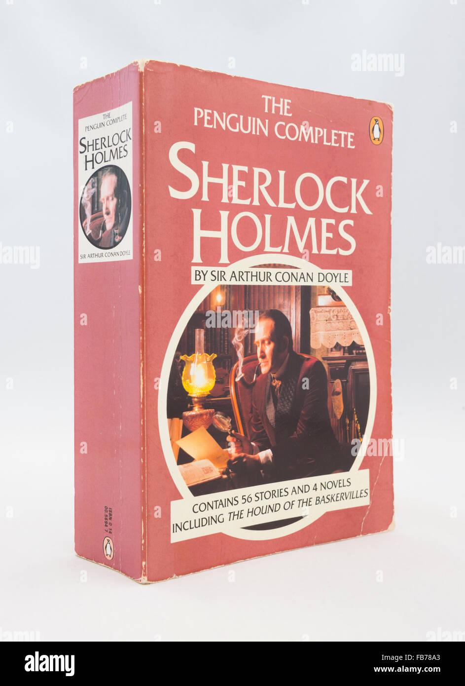 The Complete Sherlock Holmes by Sir Arthur Conan Doyle - Stock Image