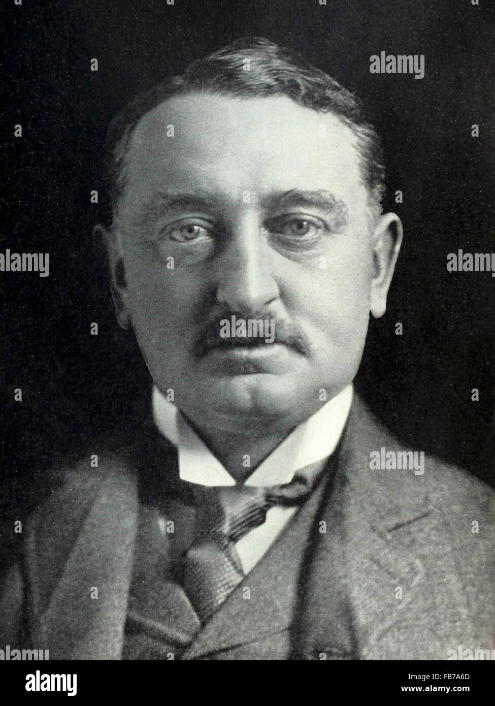 Cecil John Rhodes, British colonial and politician in South Africa - Stock Image