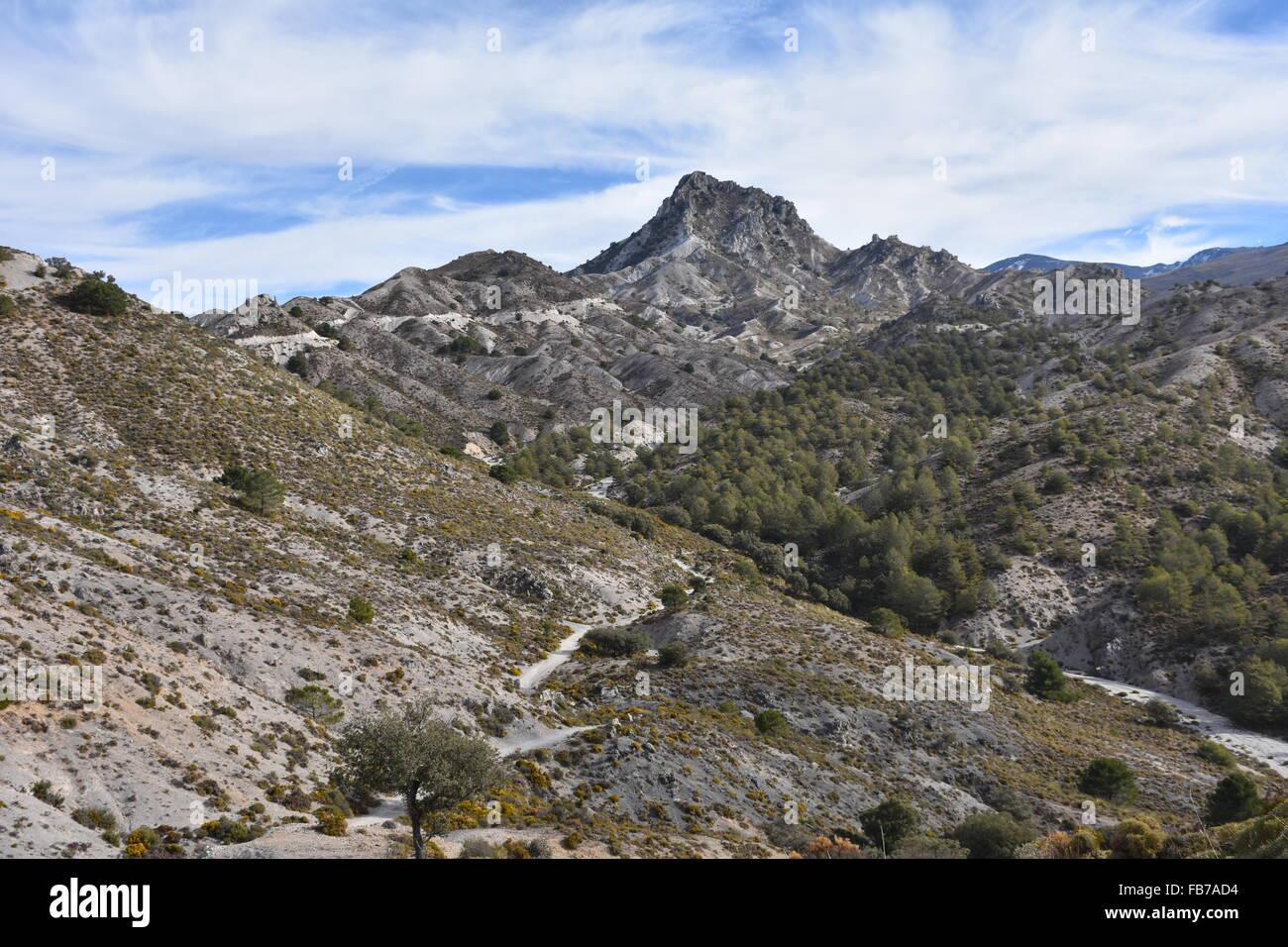 Trevenque, Andalucia, Spain - Stock Image