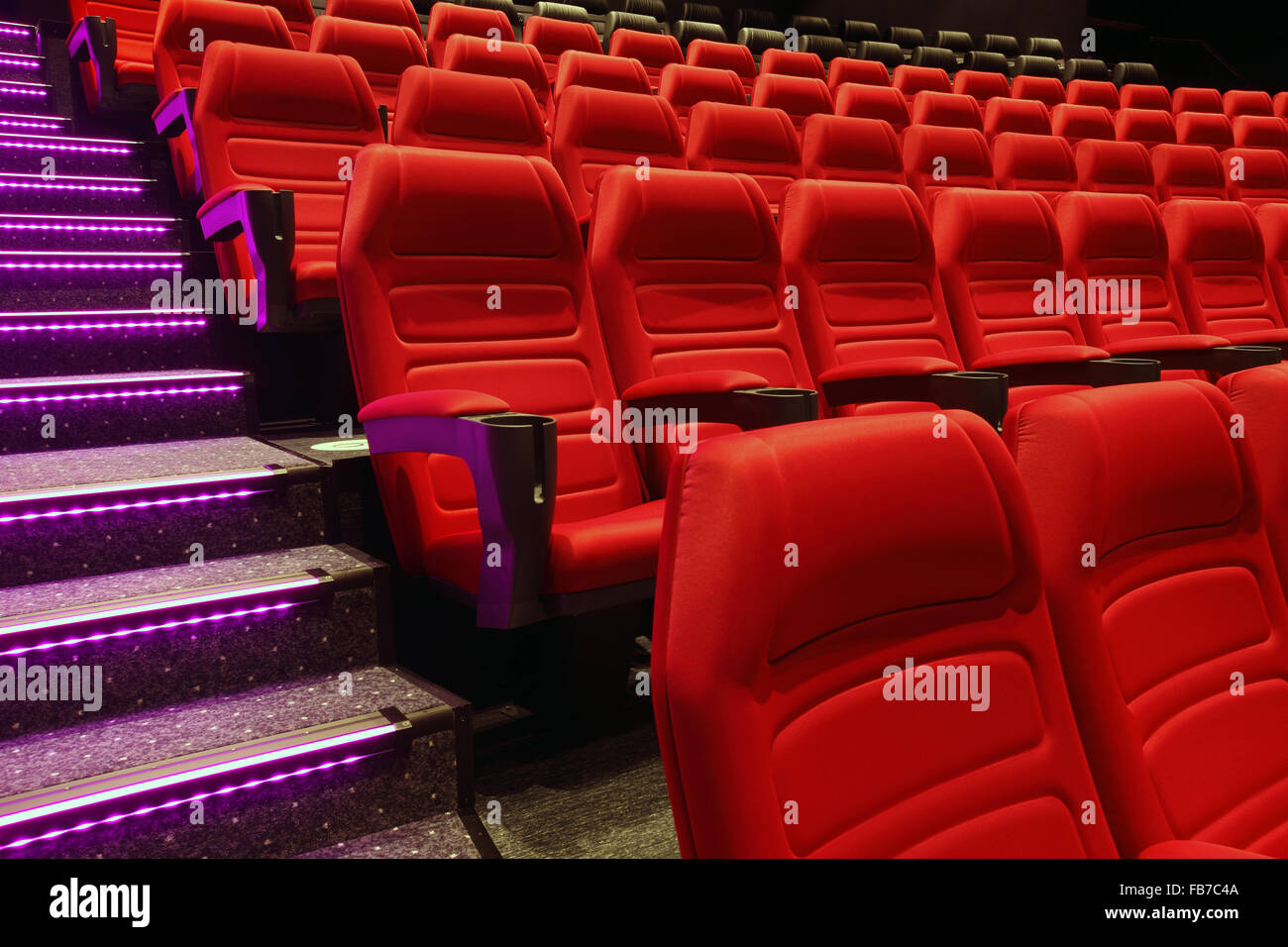 red theater seats theatre empty rows of red theater or movie seats stock photo 92976250 alamy
