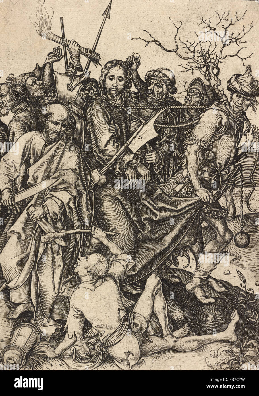 The Betrayal of Christ - Stock Image