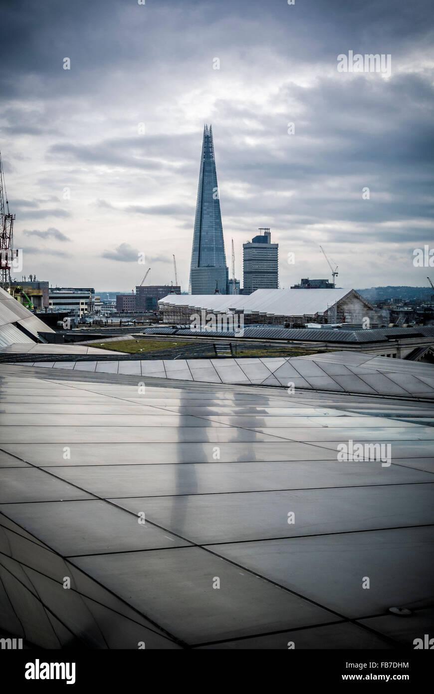 The Shard, London, UK. - Stock Image