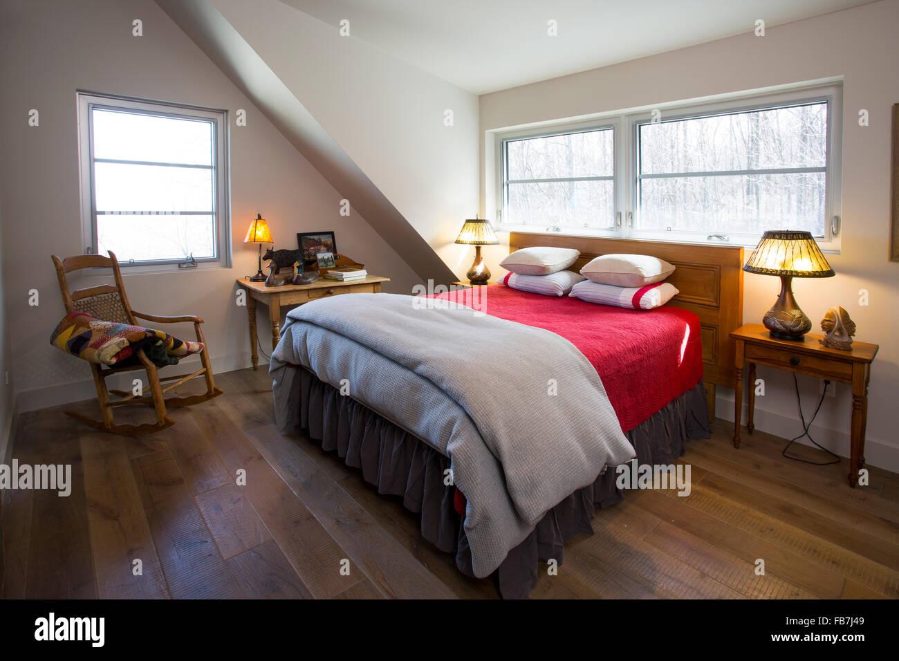 North America Canada Ontario Antique Bedroom Furniture Stock