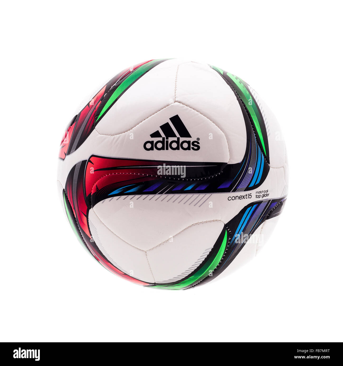 Adidas CONEXT 15 Top Glider Football for the 2015 Womans World Cup in Canada - Stock Image