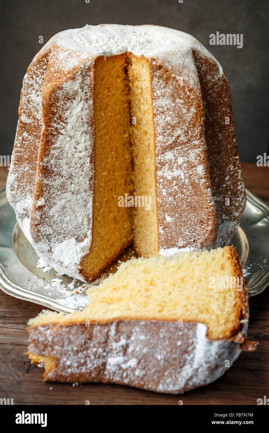 Italian Christmas Cake.Pandoro Italian Christmas Cake Stock Photo 92983400 Alamy