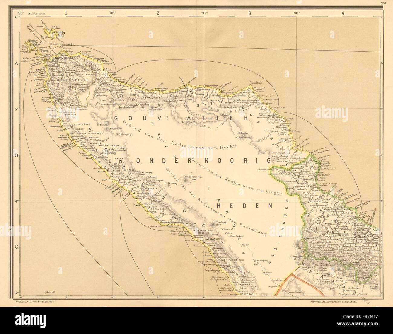 DUTCH EAST INDIES Indonesia N SUMATRA Banda Stock Photo 92983863