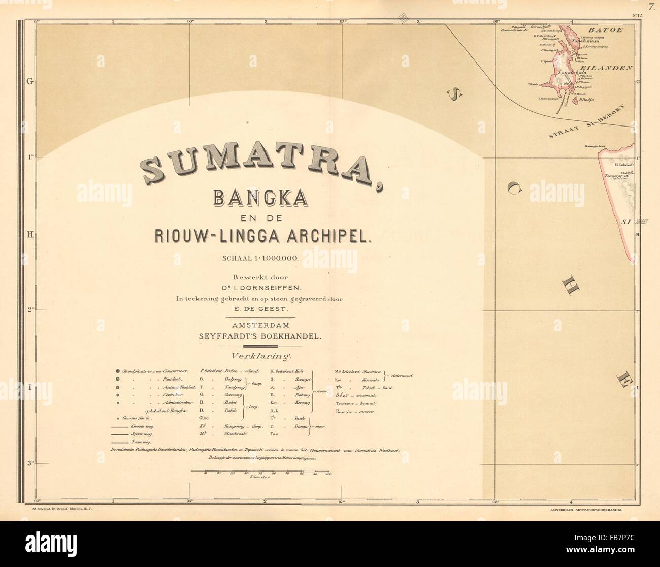 DUTCH EAST INDIES:Indonesia:SUMATRA Batu islands Siberut