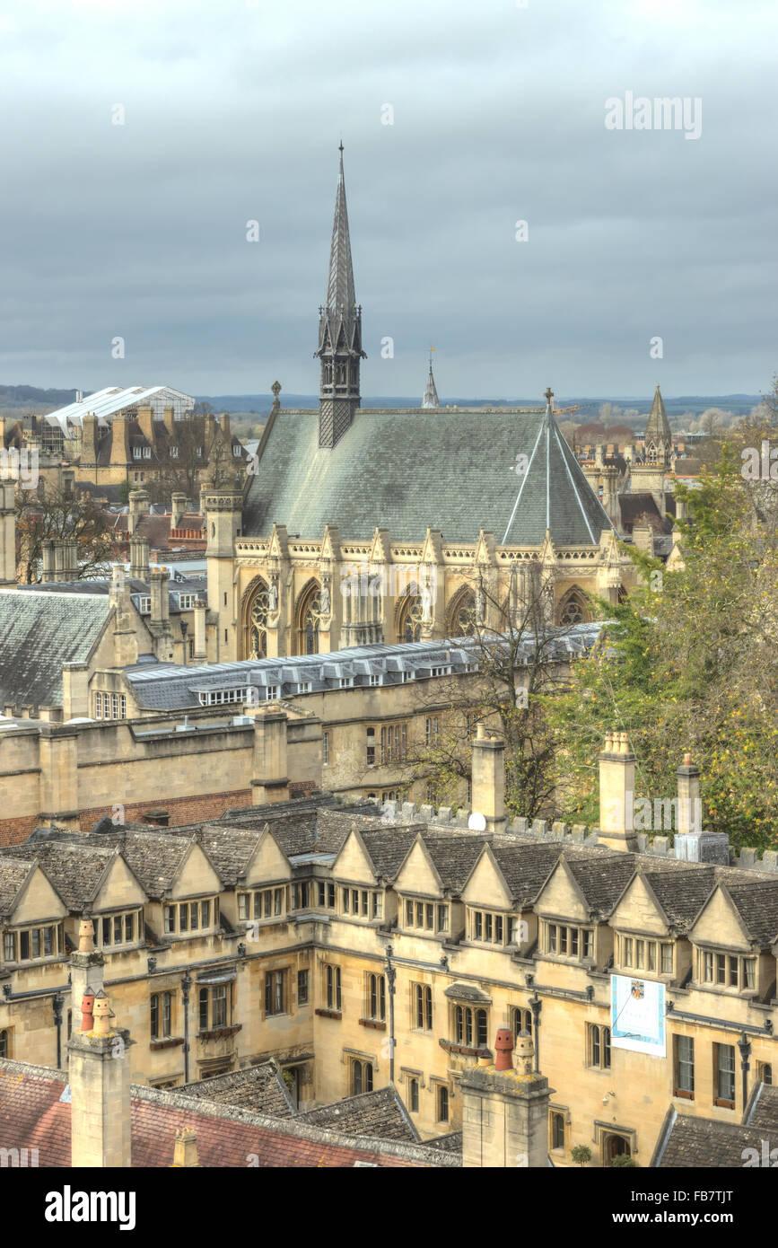 University Of Oxford: Exeter University Stock Photos & Exeter University Stock