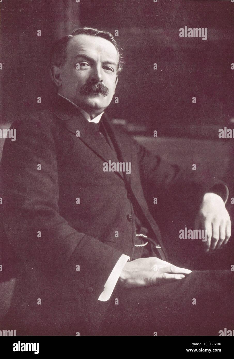 Liberal statesman David Lloyd George 1863-1945 - Stock Image
