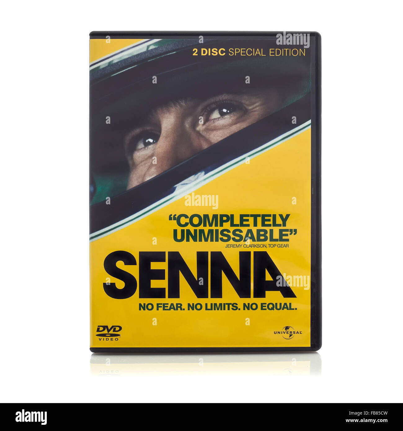 SENNA DVD Film about the story of Ayrton Senna from Universal - Stock Image