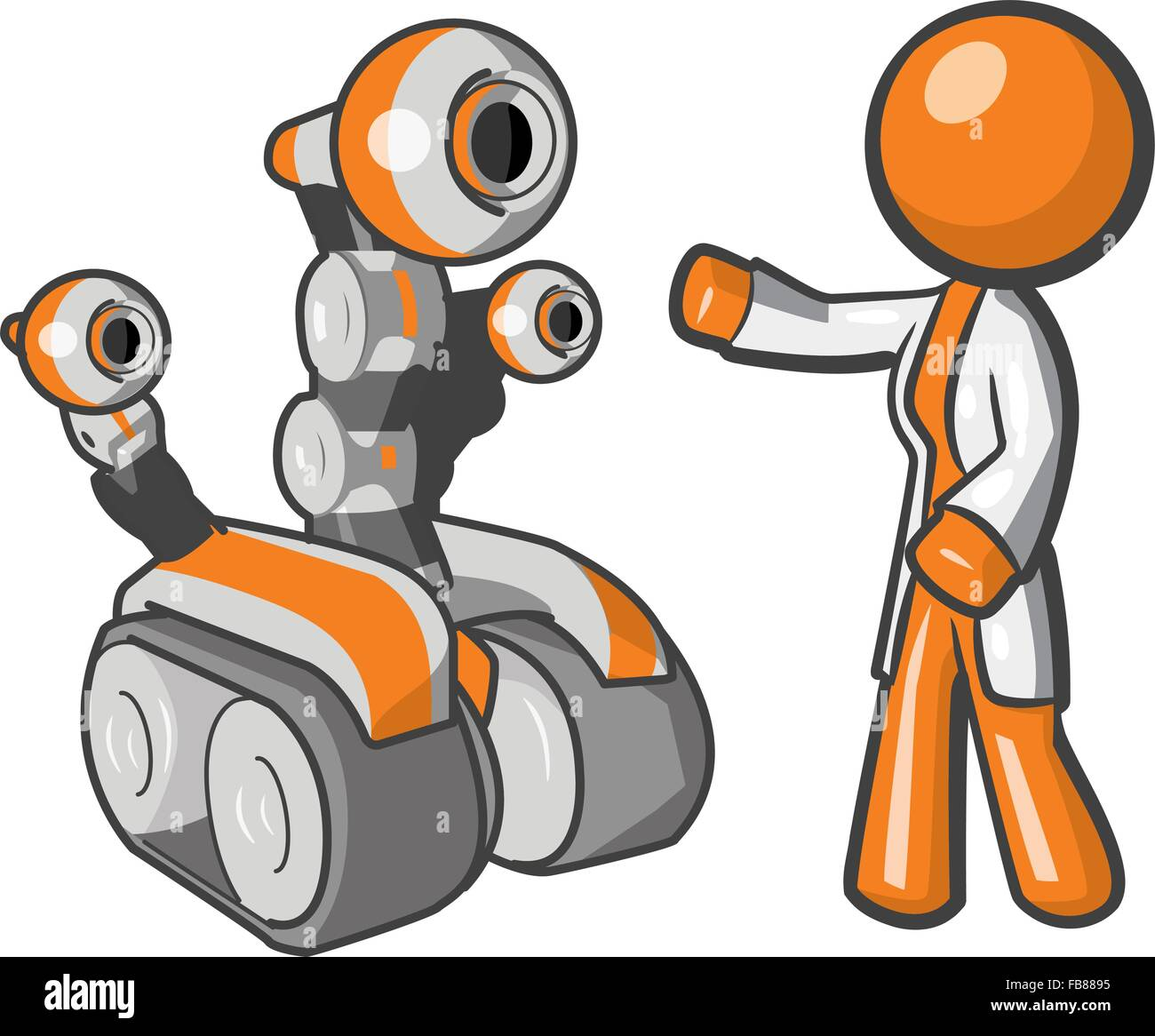 Robotics Engineer Cut Out Stock Images Pictures Alamy