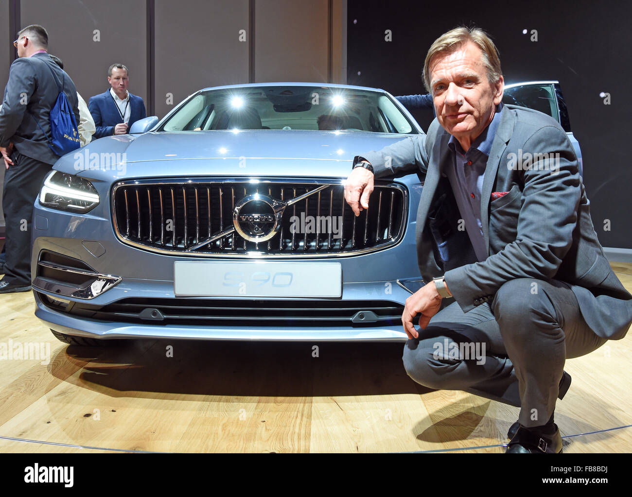 President And Ceo Of Volvo Car Corporation Stock Photos President