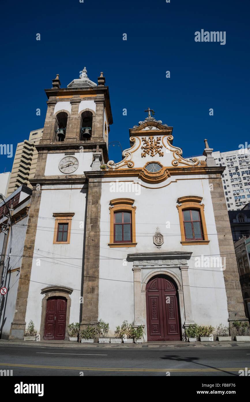 Igreja de Santa Rita de Cássia, Rio de Janeiro, Brazil Stock Photo