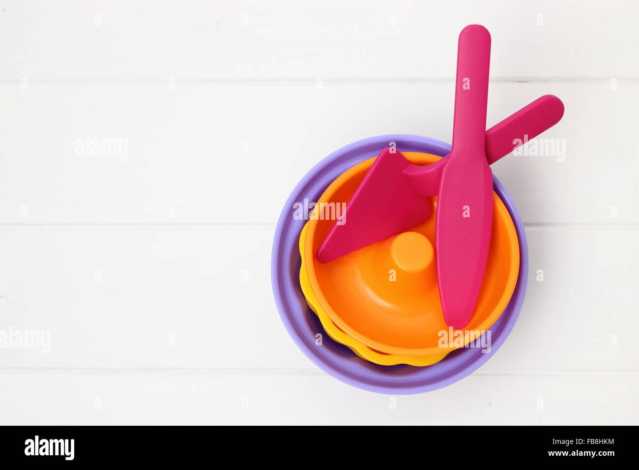 set for sandbox for kids - Stock Image