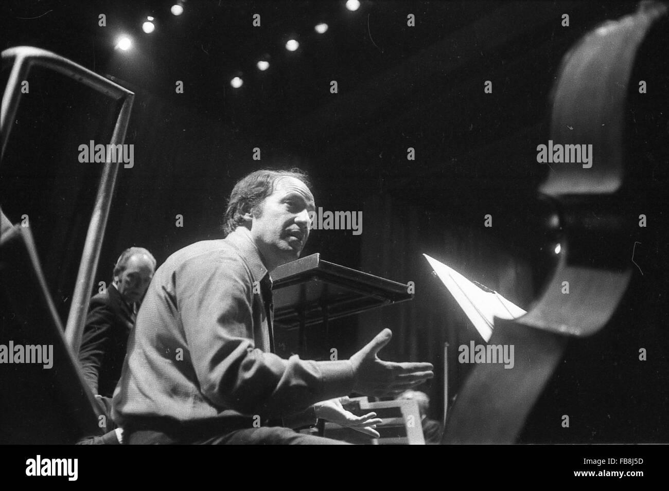 Pierre Boulez -  1972  -  France / Ile-de-France (region) / Paris  -  Pierre Boulez, Paris, 1972   -  Philippe Gras - Stock Image