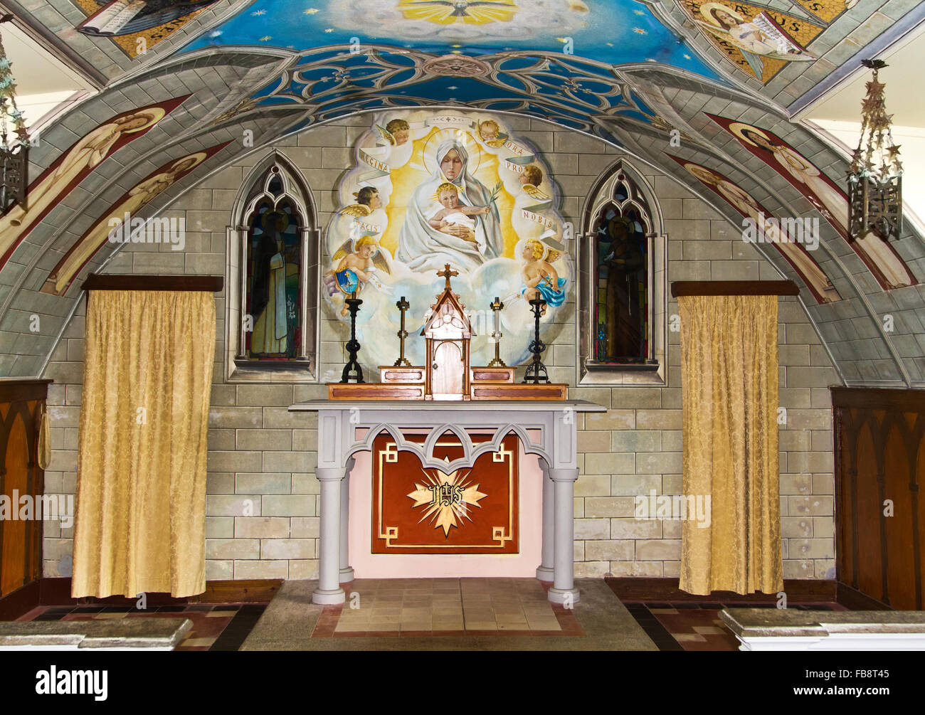 The Italian Chapel, Orkney, Scotland. - Stock Image