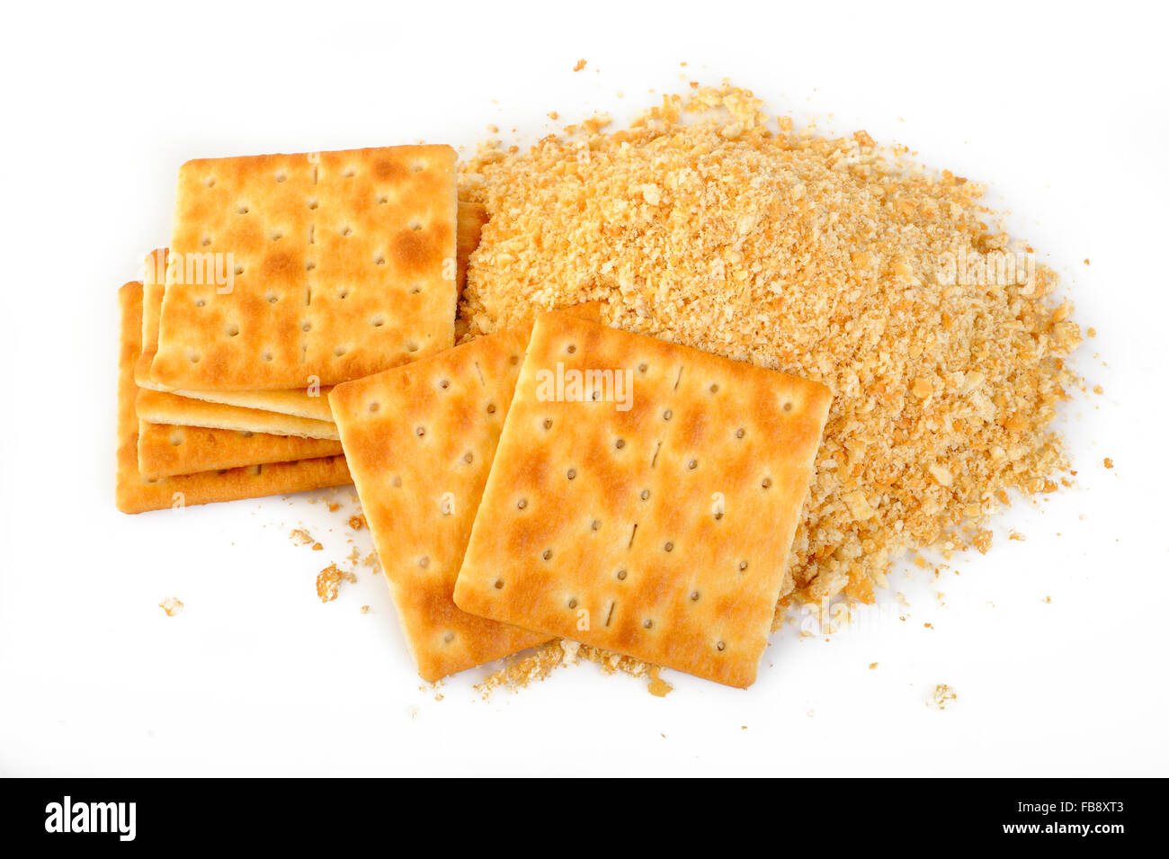 cracker pie crust - Stock Image