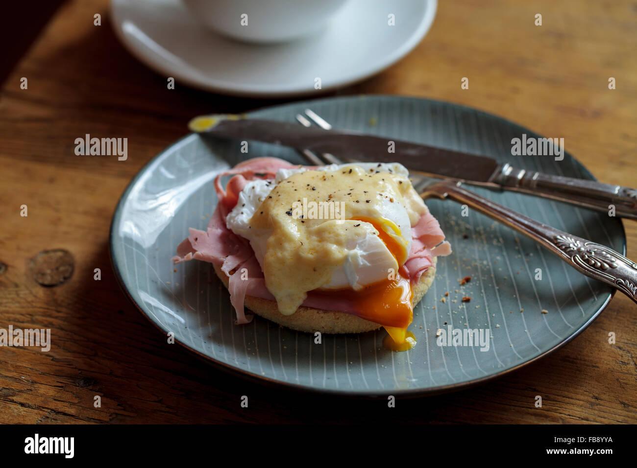Egg benedict - Stock Image