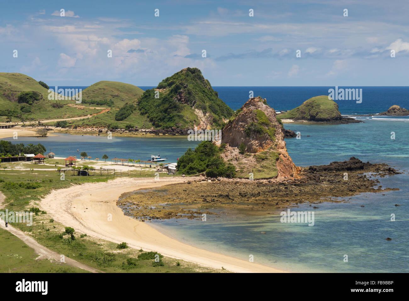 Pantai Seger I Lombok I Indonesia - Stock Image