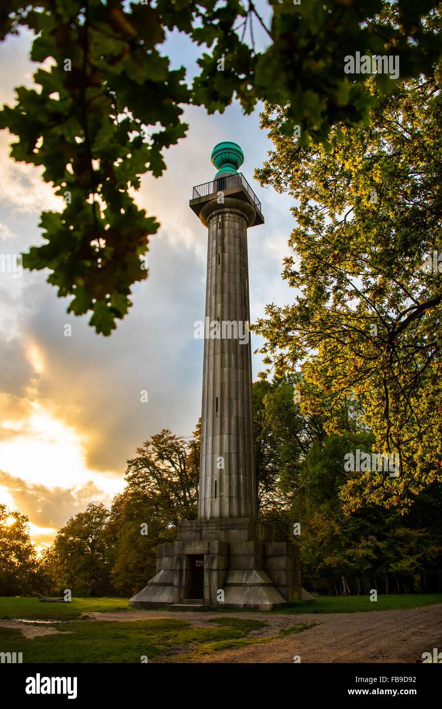 Bridgewater Monument - Stock Image