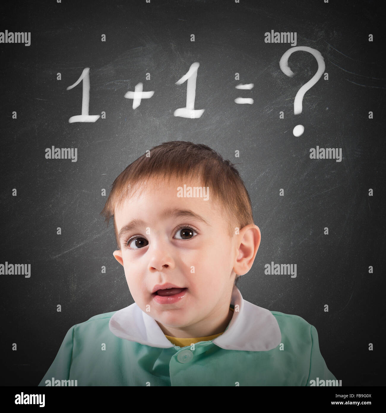 It is not simple calculation - Stock Image