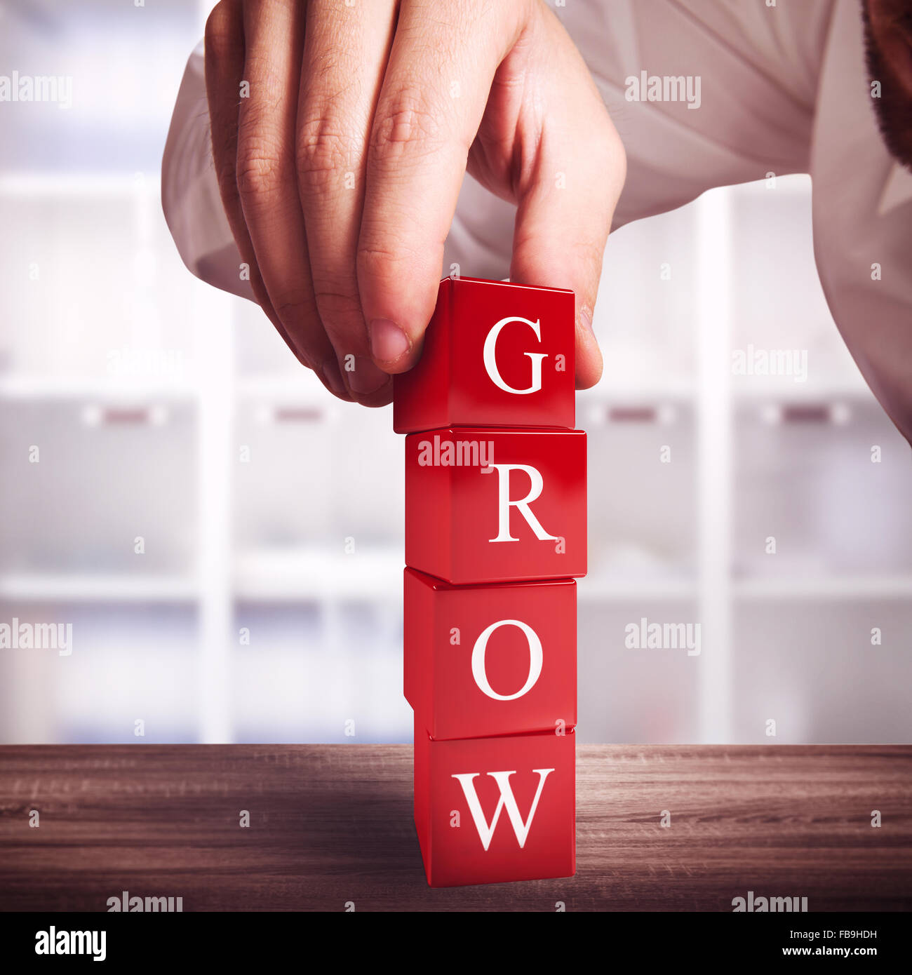 Construction growth - Stock Image