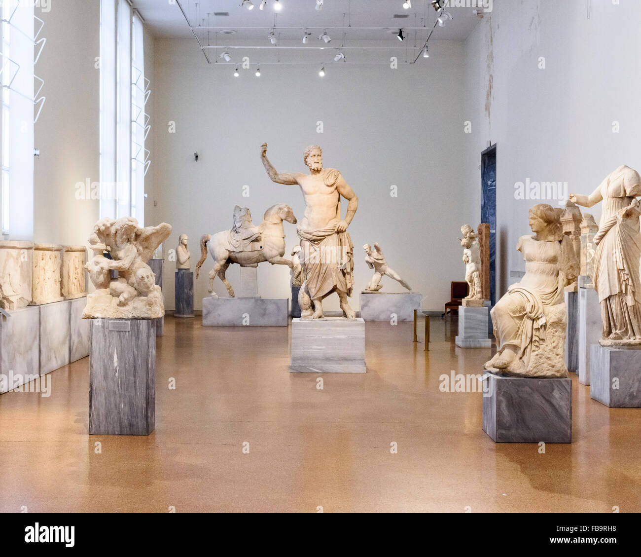 The National Archeological Museum of Athens. Institutions of Athens, Athens, Greece. Architect: N/A, 2015. Stock Photo