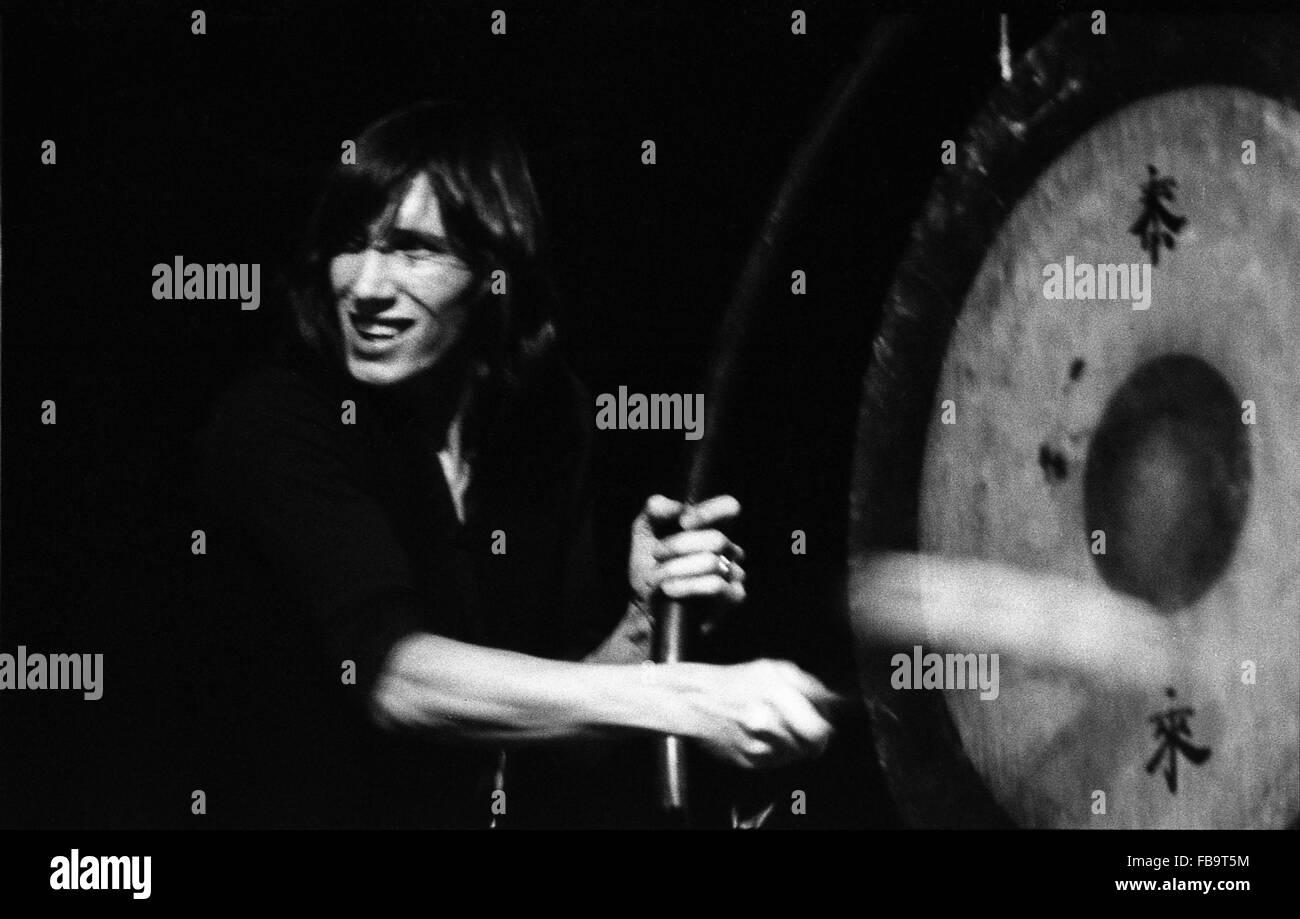 Pink Floyd -  1970  -  France / Ile-de-France (region) / Paris  -  Pink FLoyd in concert at Paris, 1970   -  Philippe - Stock Image