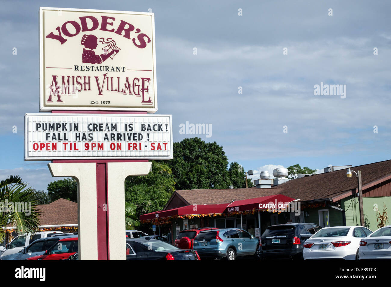 Sarasota Florida Pinecraft Amish Community Yoders Amish Village