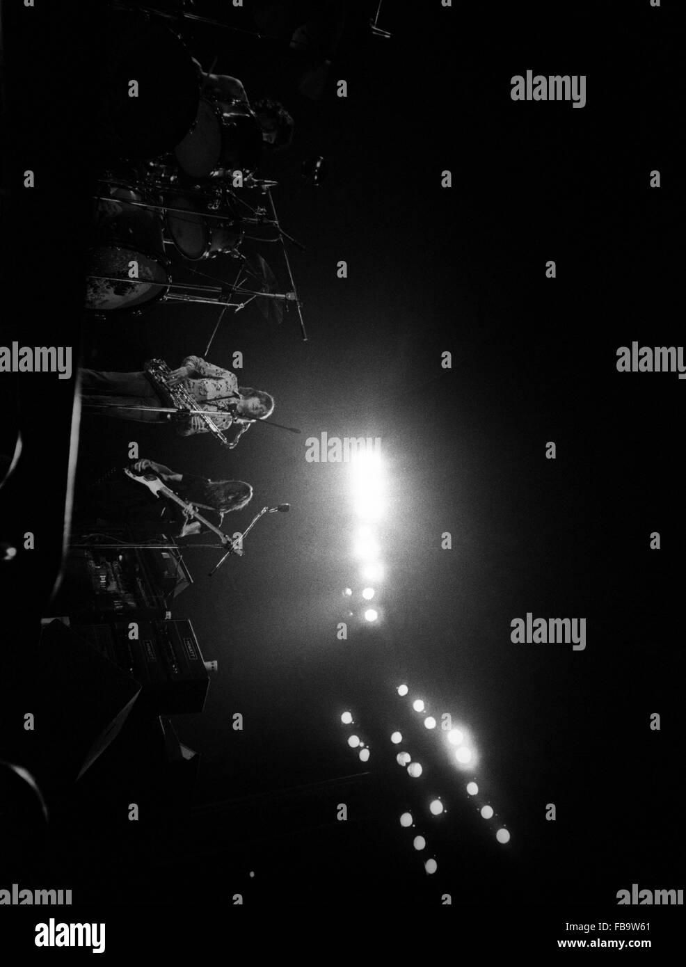 The english Rock band PINK FLOYD. -    -  The english Rock band PINK FLOYD. -  The PINK FLOYD on-stage.   -  Philippe - Stock Image