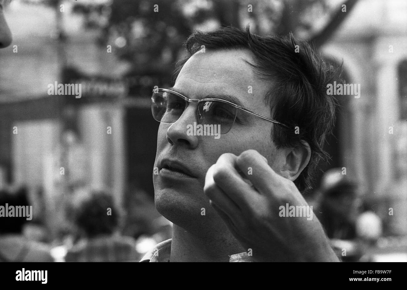 Robert Wilson, Avignon, 1976 -  France / Avignon  -  Robert Wilson, Avignon, 1976   -  Philippe Gras / Le Pictorium - Stock Image