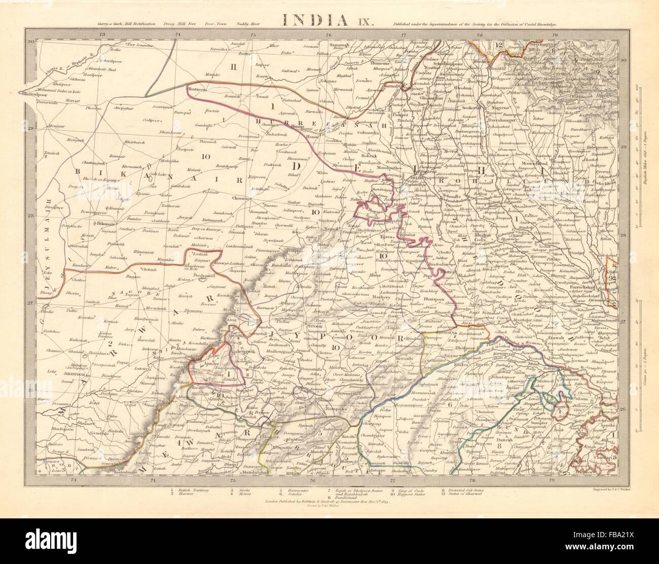 RAJASTHAN India Delhi Jaipur Marwar Bikaner Mewar Bundelkhand