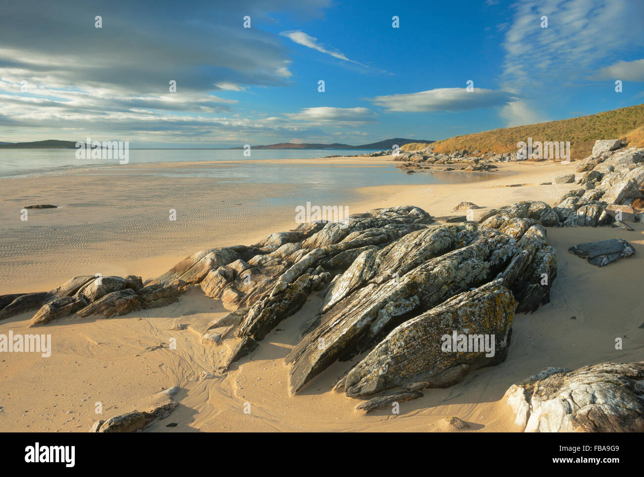Luskentyre Beach, Harris, Western Isles, Scotland, UK - Stock Image